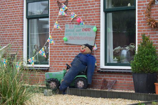 Evert van der Weg 25 jaar in dienst bij maatschap Hoekstra